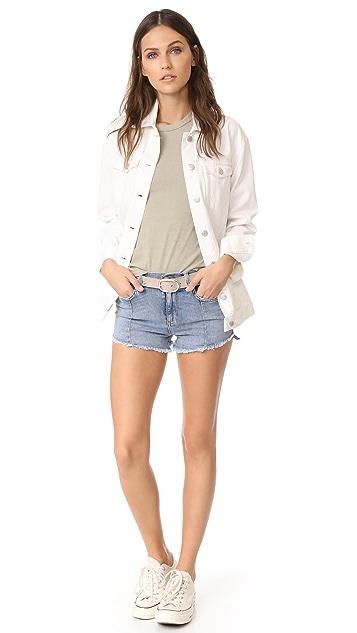Siwy L.R. Paneled Shorts