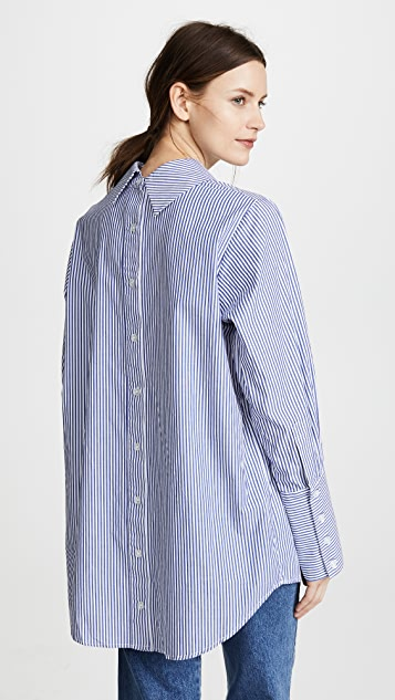 Siwy Patricia Reversed Oxford Tunic