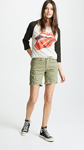 Siwy Whitney BF Shorts with Zip