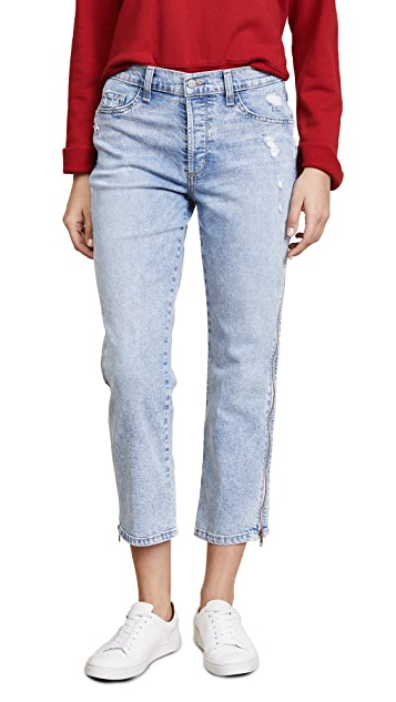 Siwy Cheryl Retro Cropped Jeans with Side Zip