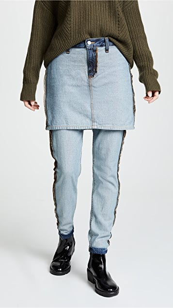 Siwy Nia Reversed Jeans with Skirt