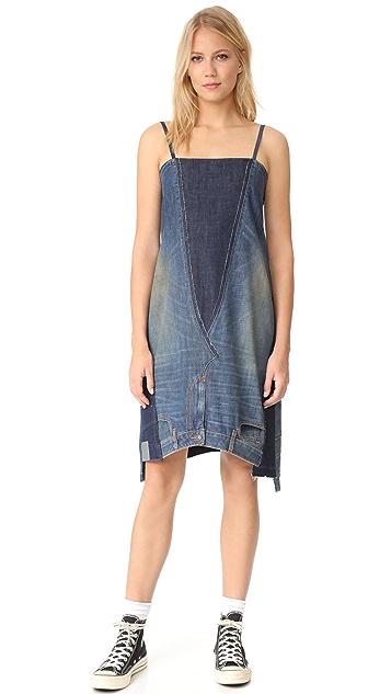 6397 2 Jeans Dress