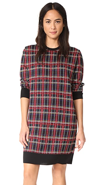 6397 Plaid Dress