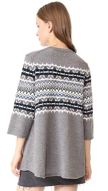 6397 Fair Isle Sweater