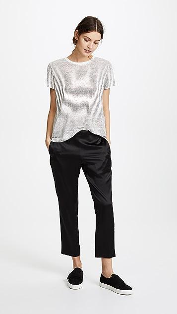 6397 丝质裤