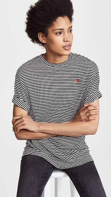 6397 Striped Sport Tee
