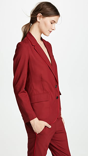 6397 Piped Blazer