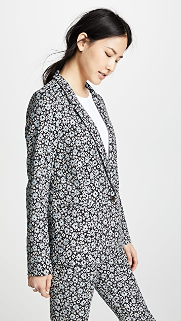 6397 Mini Lapel Blazer