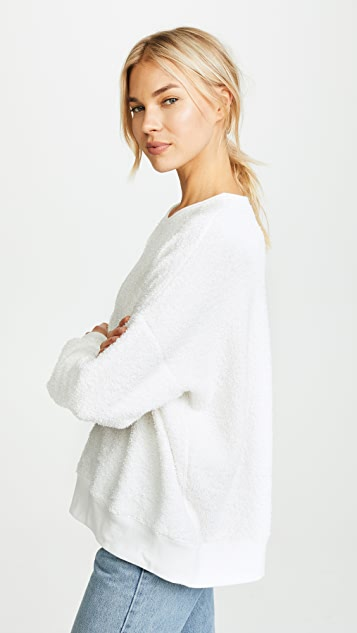 New Slouchy Terry Sweater by 6397