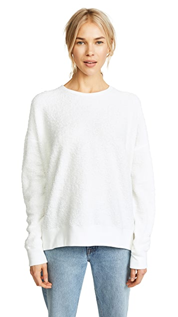 6397 New Slouchy Terry Sweater