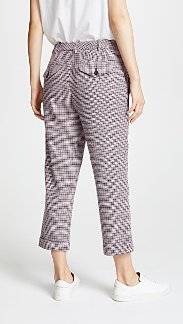 6397 Carol Houndstooth Trousers