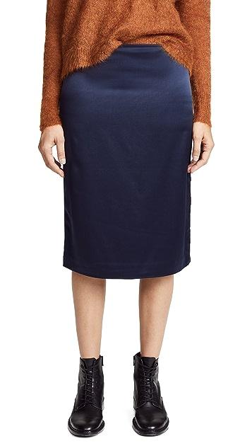 6397 Side Slit Skirt