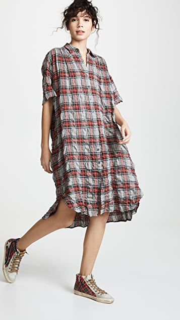 6397 Oversized Shirtdress