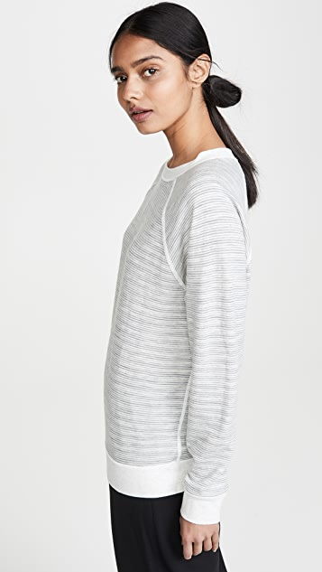 6397 Reversible Stripe Sweatshirt