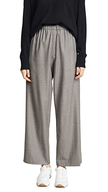 6397 Широкие брюки без застежки