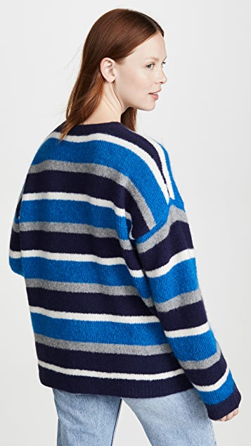 6397 开司米羊绒圆领毛衣