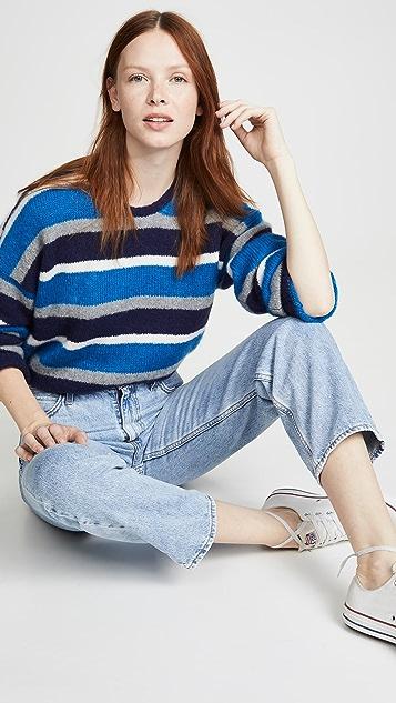 6397 Кашемировый свитер с округлым вырезом