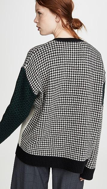6397 Combo 开襟羊毛衫