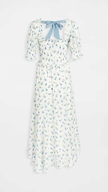 Sister Jane Perennial Floral Maxi Dress