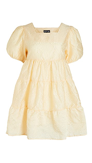 Sister Jane Buttercup Puff Sleeve Mini Dress