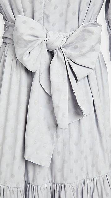 Sister Jane Idle Polka Dot Maxi Dress