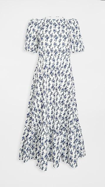 Sister Jane Wisteria Tie Back Midi Dress