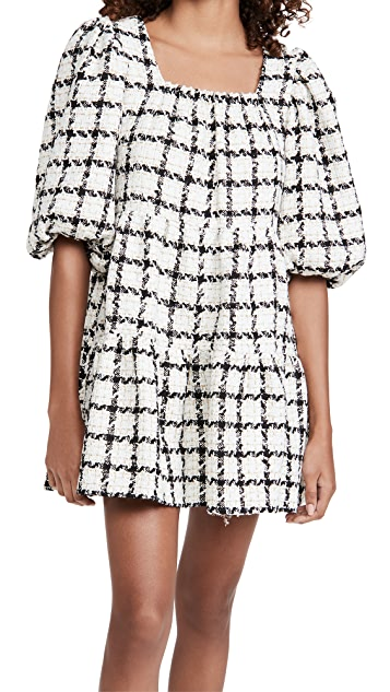 Sister Jane Supper Club Tweed Mini Dress