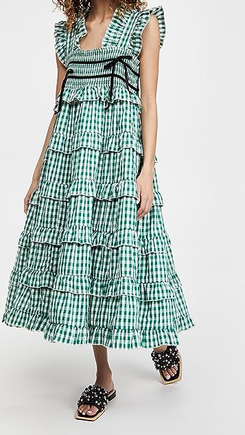 Sister Jane Roller Gingham Midi Dress