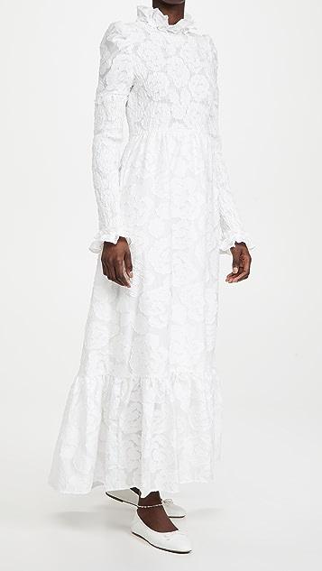 Sister Jane Margaret 提花织物长连衣裙