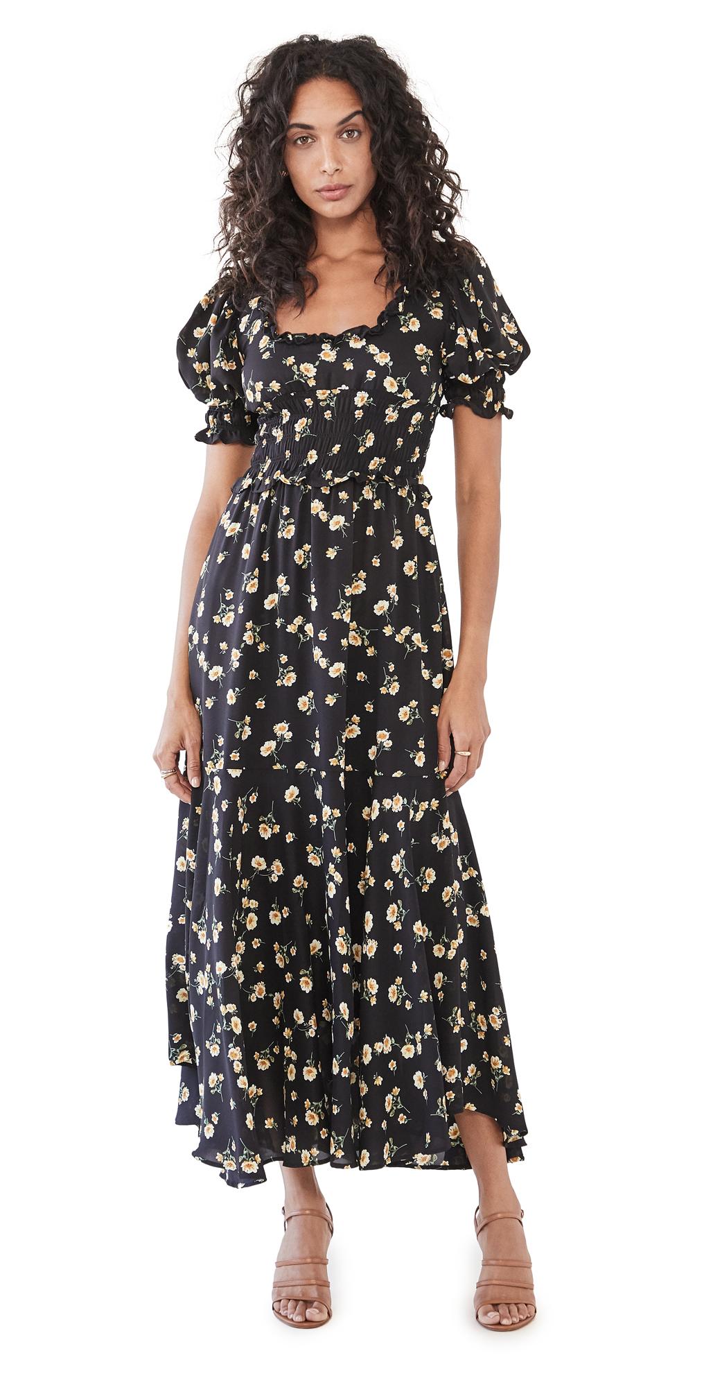 Sister Jane Prairie Bloom Midi Dress