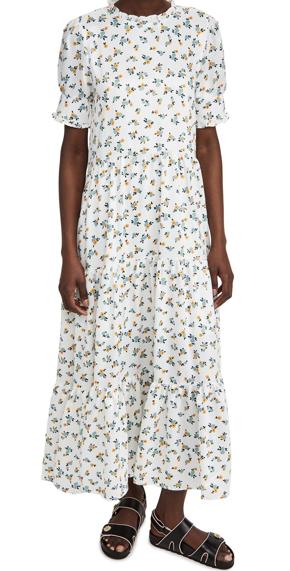 Sister Jane Wild Flower Tiered Maxi Dress