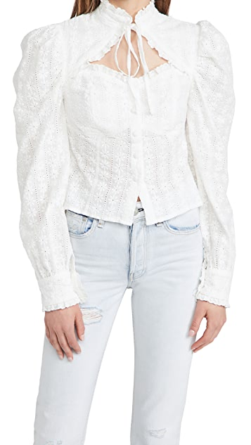 Sister Jane Best Wishes Embroidery Top