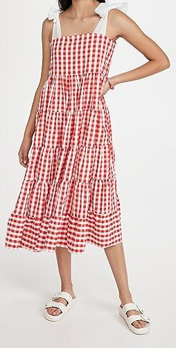 Sister Jane - Love Note Gingham Midi Dress