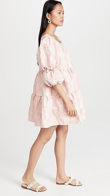 Sister Jane Sideline Jacquard Mini Dress