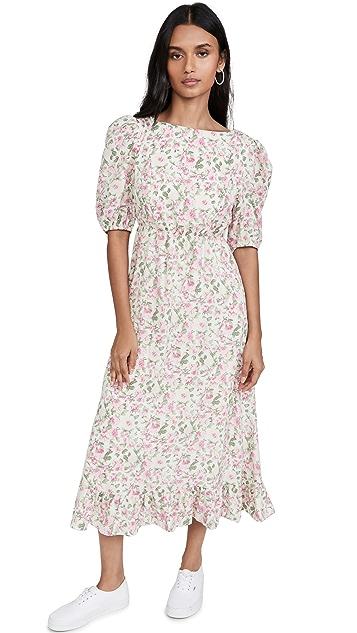 Sister Jane Forest Fauna Midi Dress