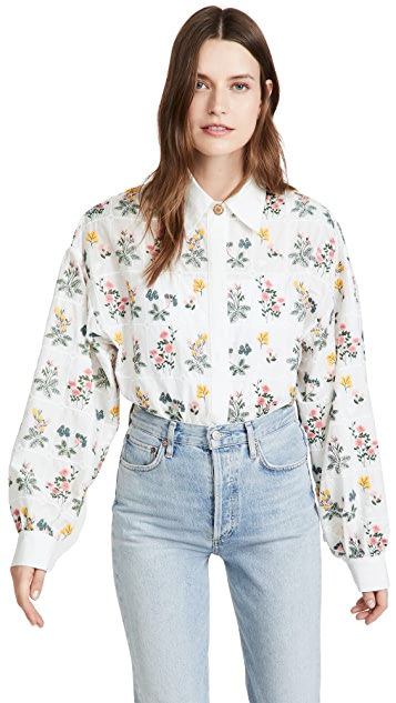 Sister Jane Acres Embroidered Shirt
