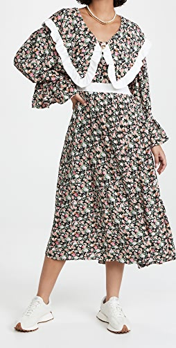 Sister Jane - Niece 花卉中长连衣裙
