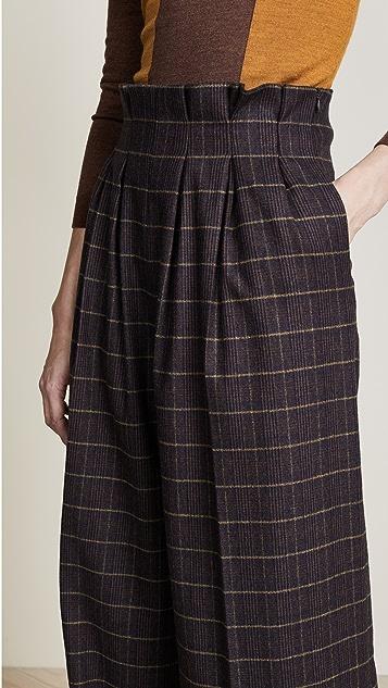 Stella Jean Paper Bag Waist Pants