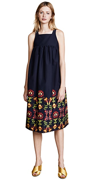 Stella Jean Trompe l'Oeil Dress
