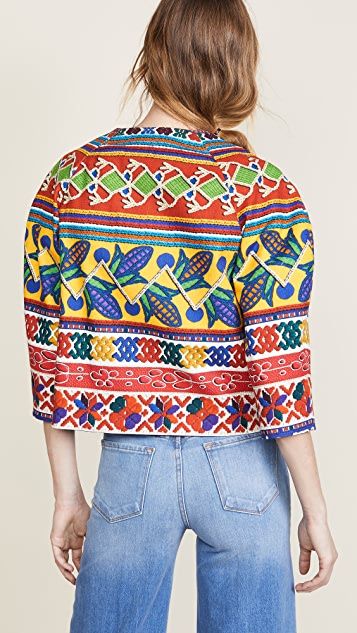 Stella Jean Patterned Top
