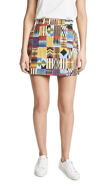 Stella Jean Patterned Miniskirt