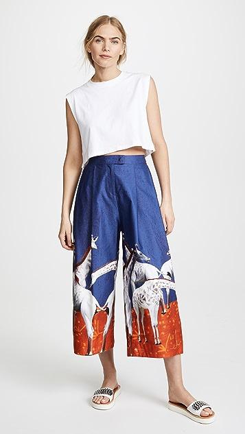 Stella Jean Giraffe Pants