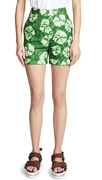 Stella Jean Patterned Shorts