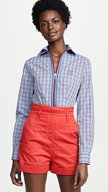 Stella Jean Collared Shirt