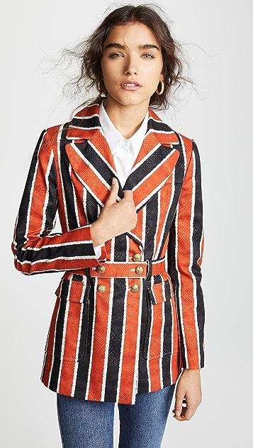 Stella Jean Striped Blazer