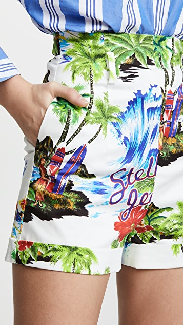 Stella Jean Tropical Trouser Shorts