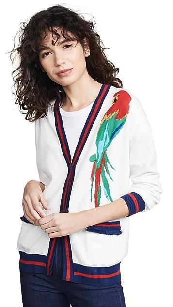 Stella Jean Parrot Cardigan