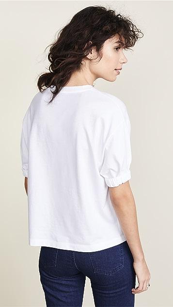 Stella Jean Комбинированная футболка с графическим принтом Taboo