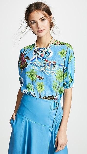 Stella Jean Tropical Shirt