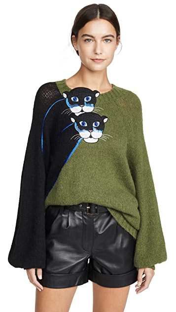 Stella Jean Cat Sweater
